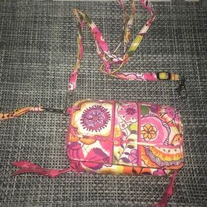 Vera Bradley All In One Crossbody in Clementine